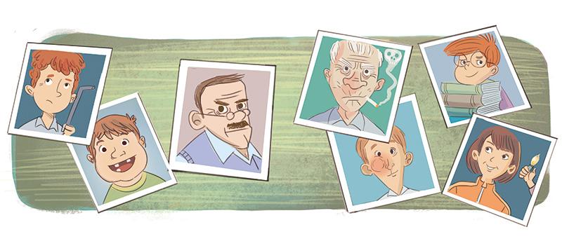 Clauio Cerri educational illustration
