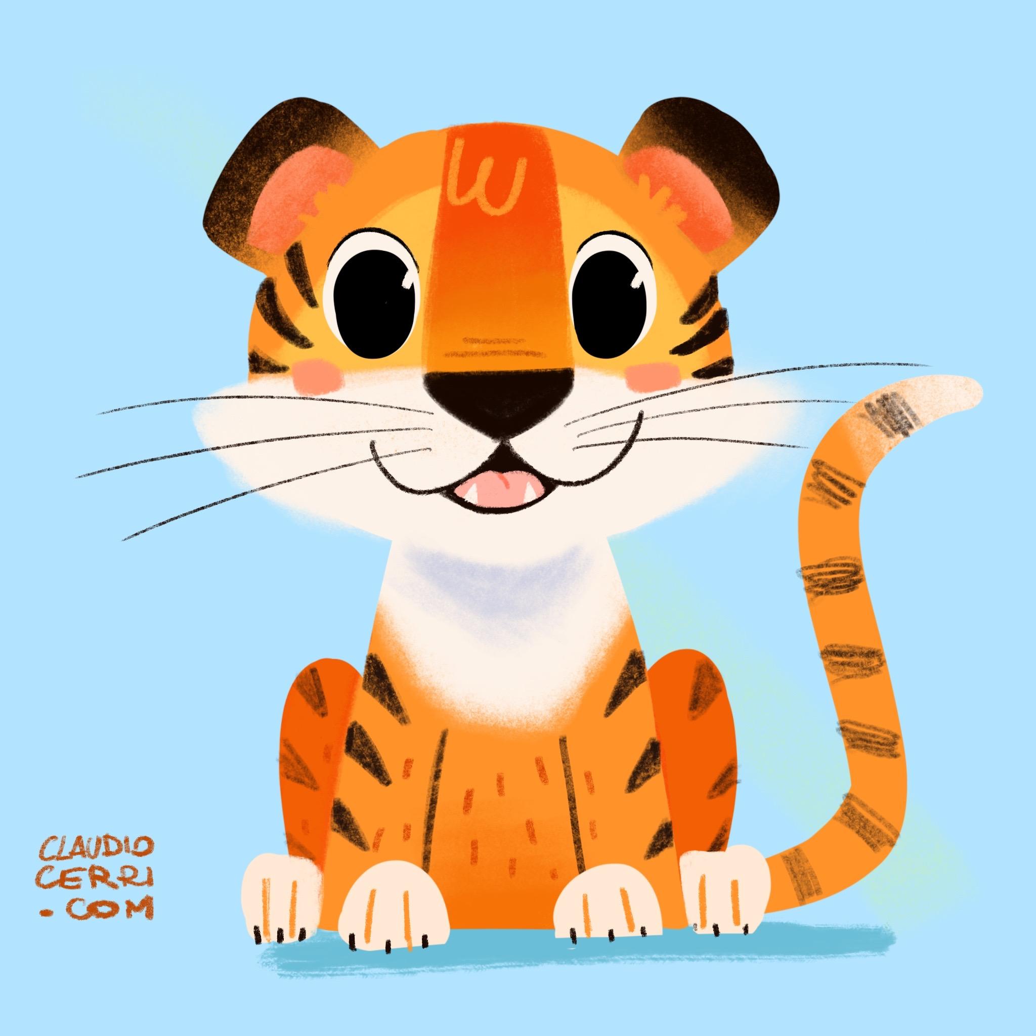 claudio cerri little tiger