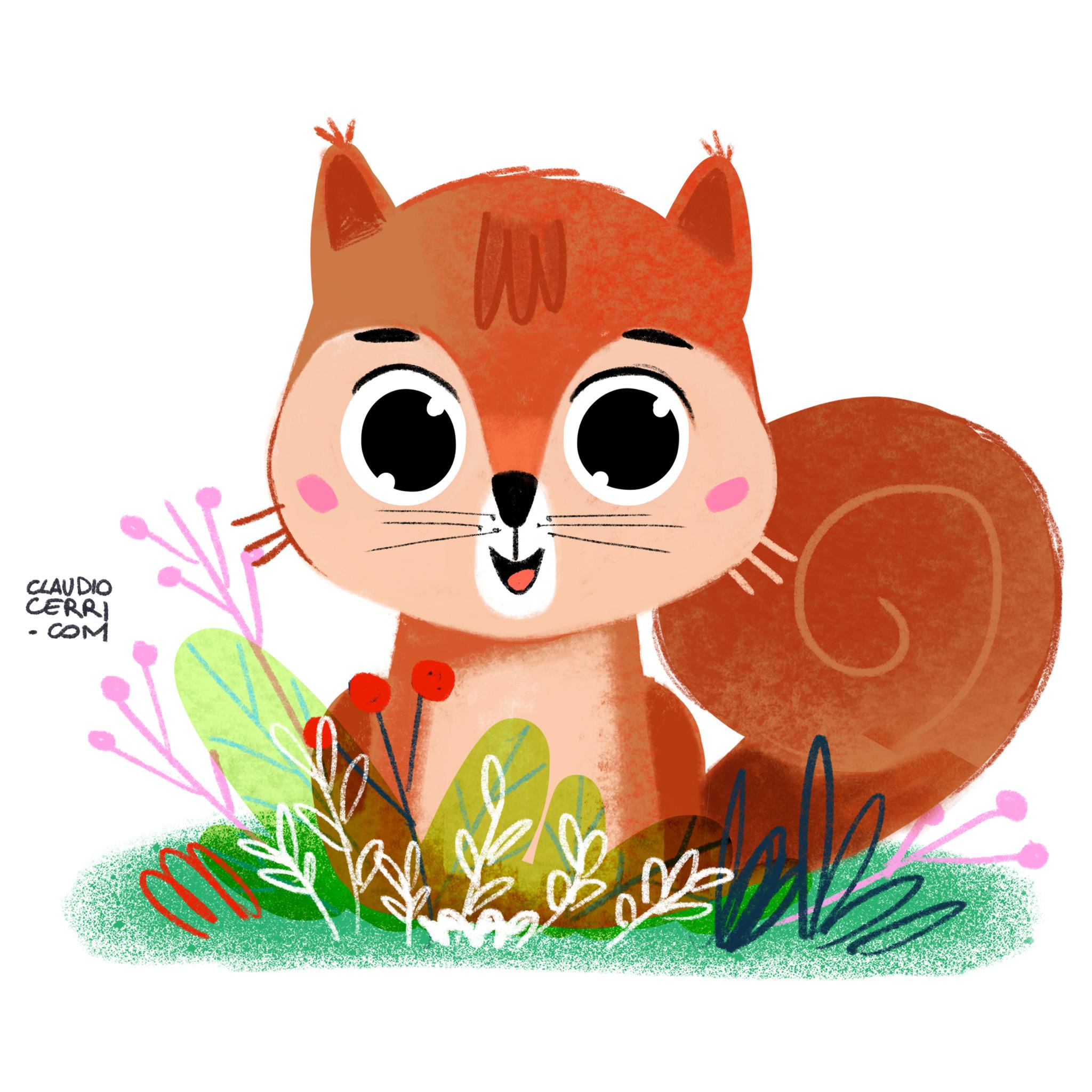 Claudio cerri squirrel